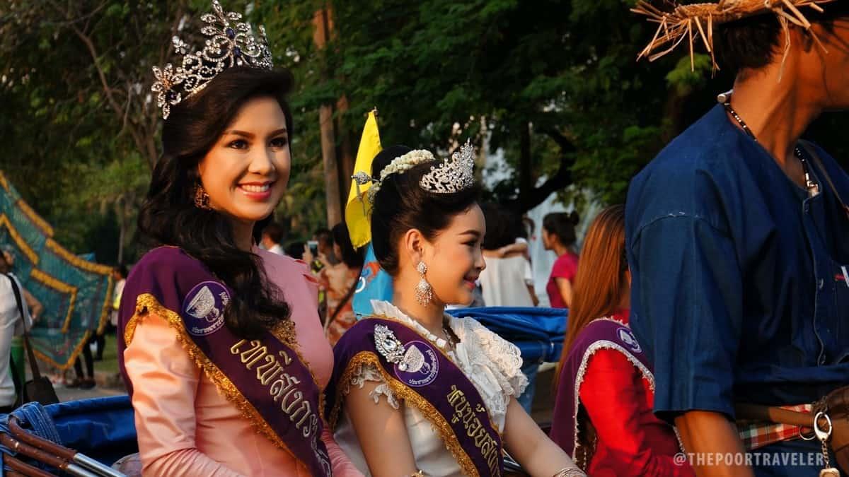 TTF2016 - 5 Region Procession Muses