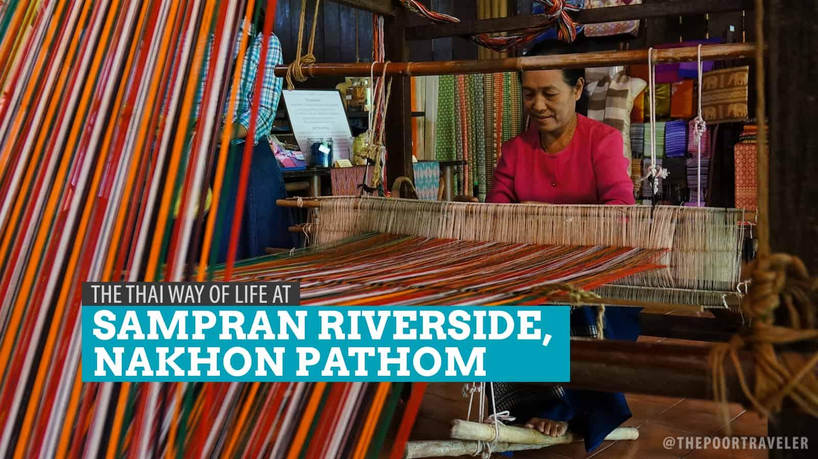 The Sampran Riverside Way of Life in Nakhon Pathom, Thailand
