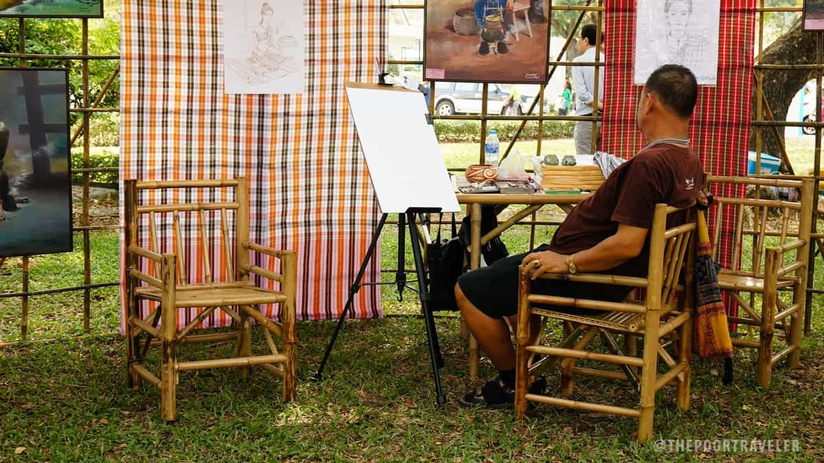 Thailand Tourism Festival 2016 - Painting