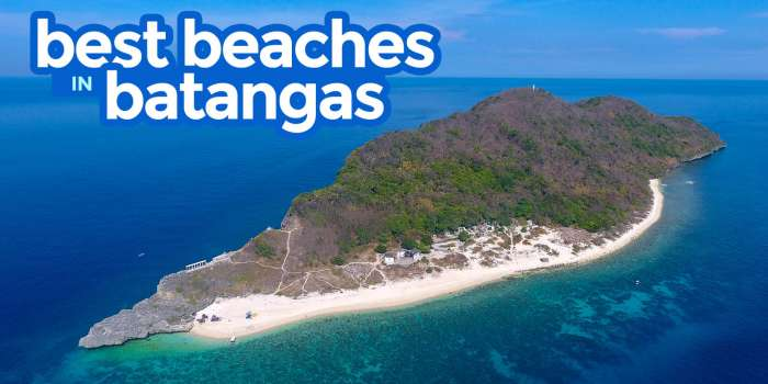 13 MUST-VISIT BEACHES IN BATANGAS, PHILIPPINES