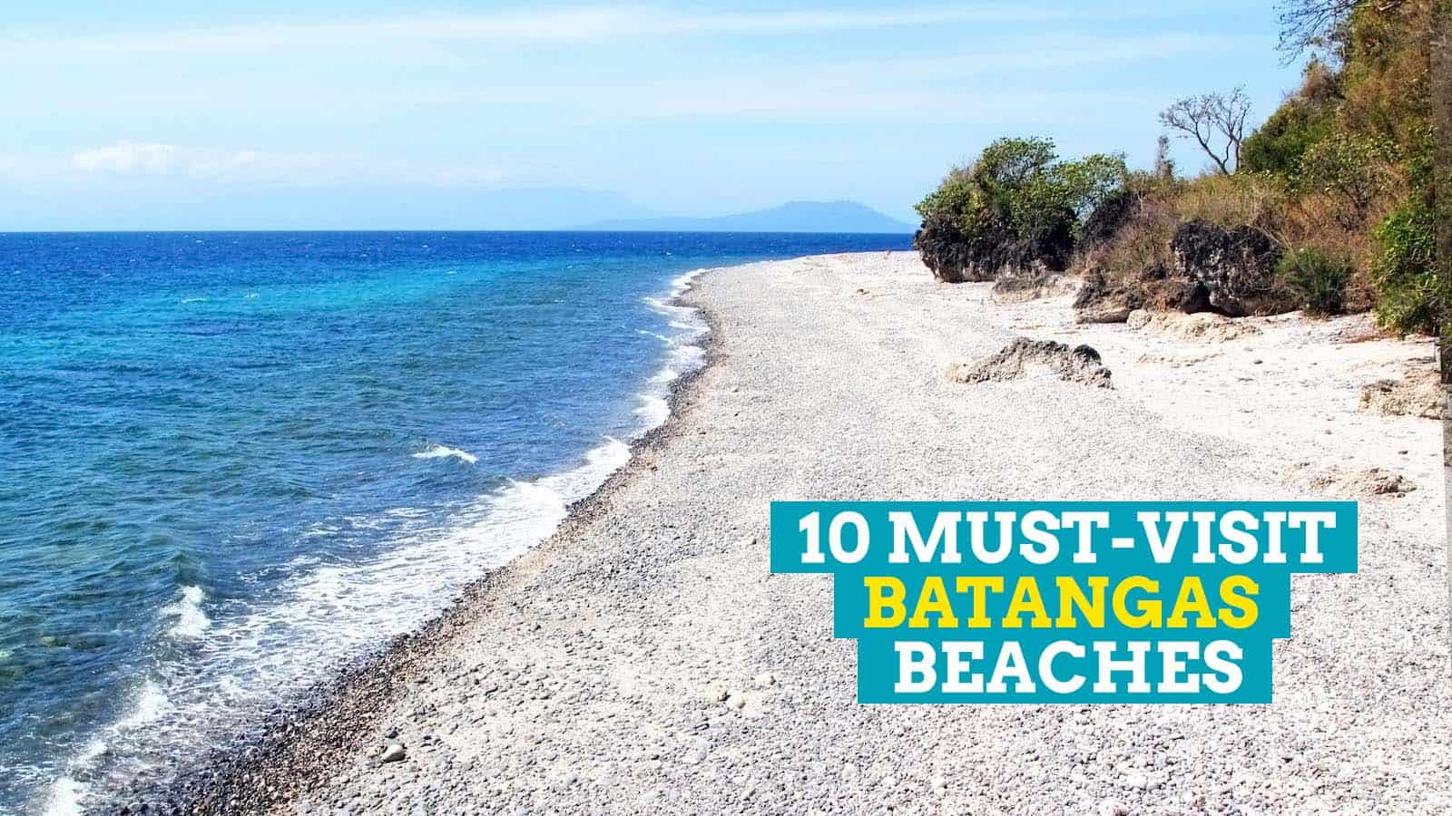 10 Must Visit Beaches In Batangas Philippines The Poor