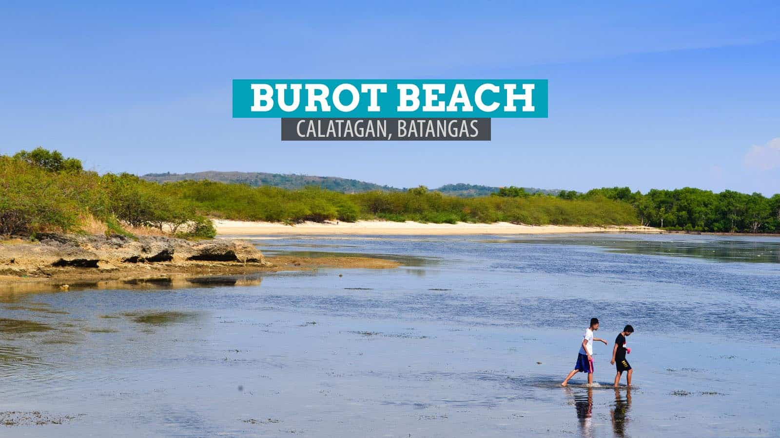 BUROT BEACH in Calatagan, Batangas