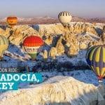 Cappadocia, Turkey: Hot Air Balloon Ride at Sunrise