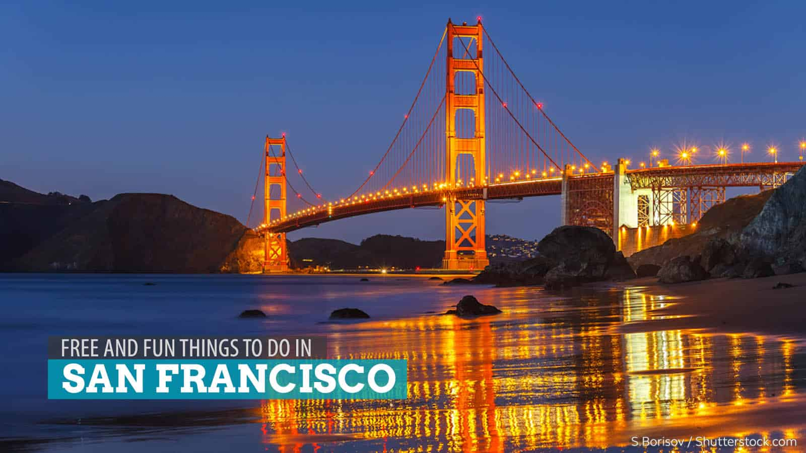 5 FREE and Fun Things to Do in San Francisco, California