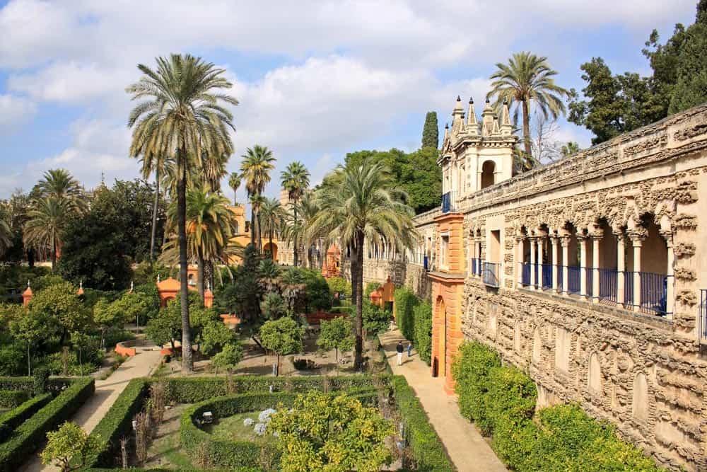 Alcázar of Seville in reality