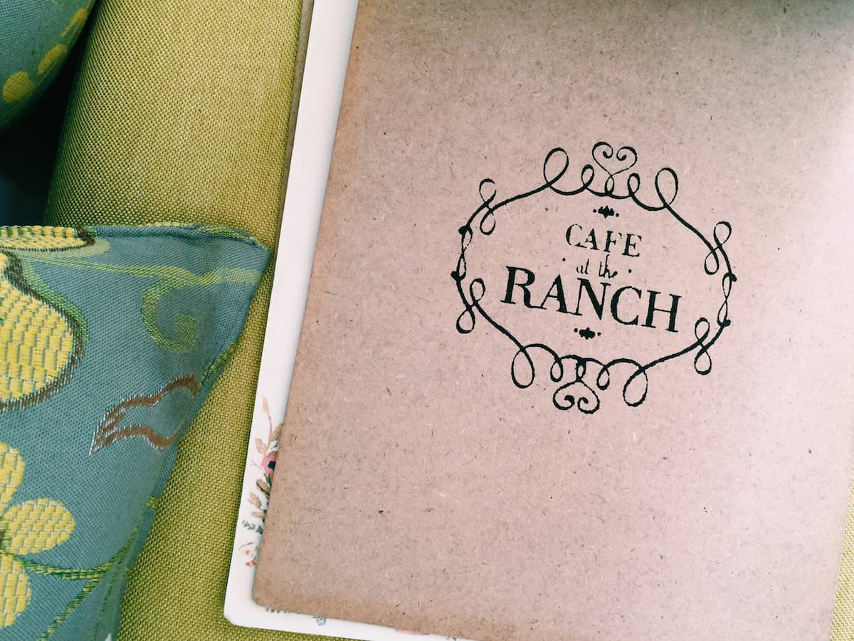 Cafe at the Ranch Menu