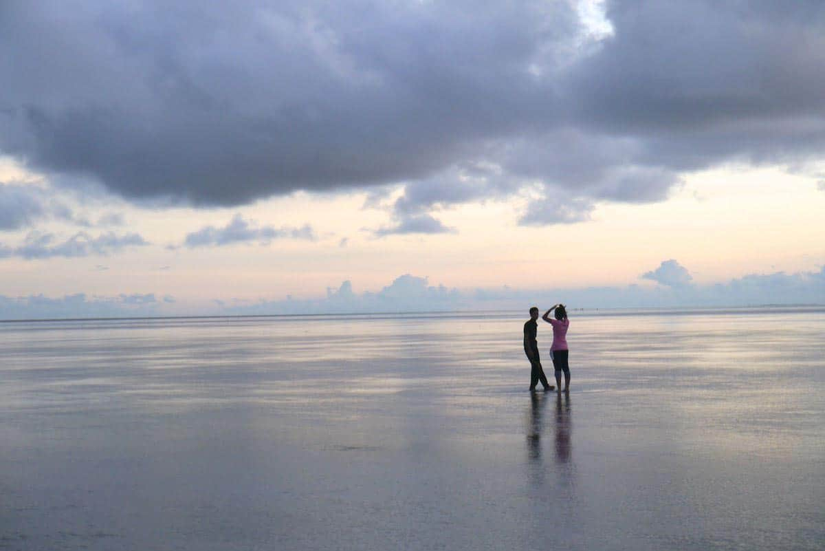 Chandipur Beach in India