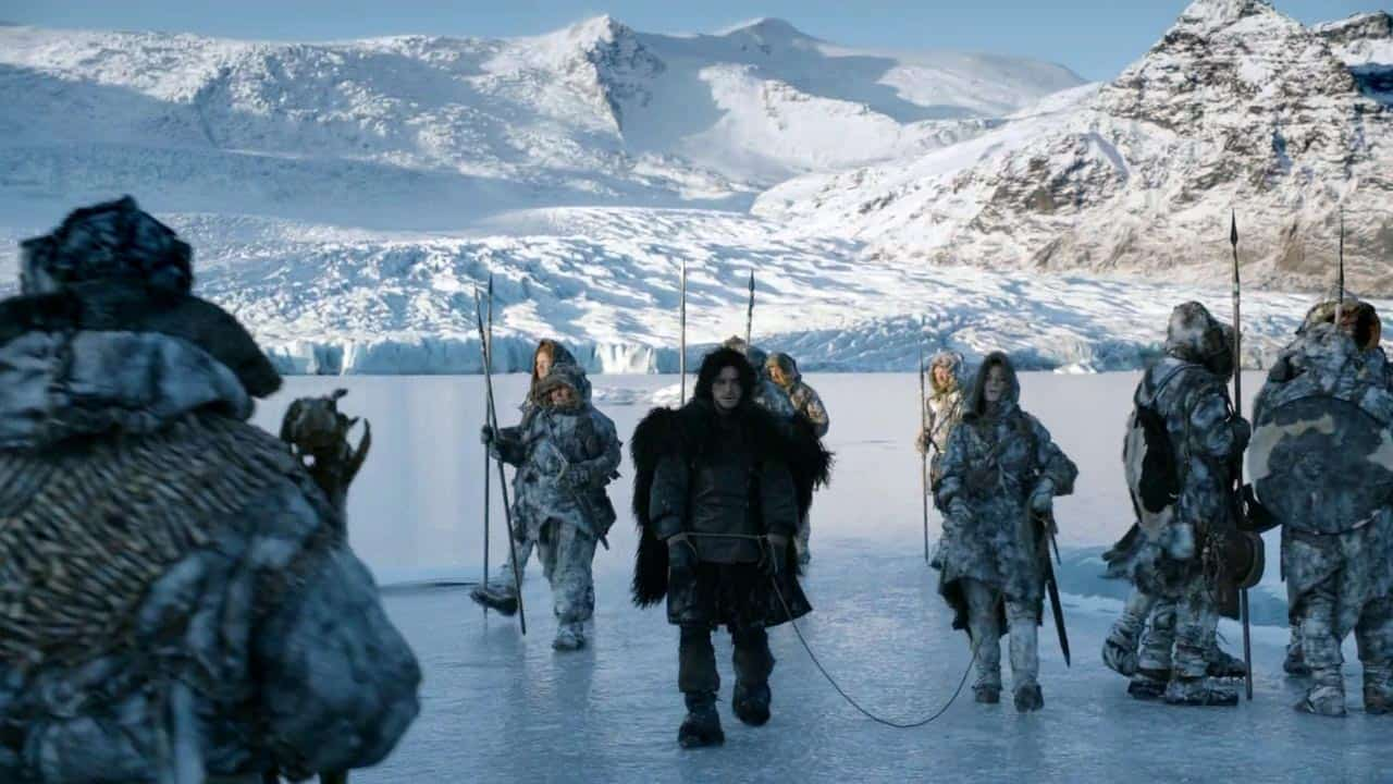 Iceland as Wildling and White Walker territory