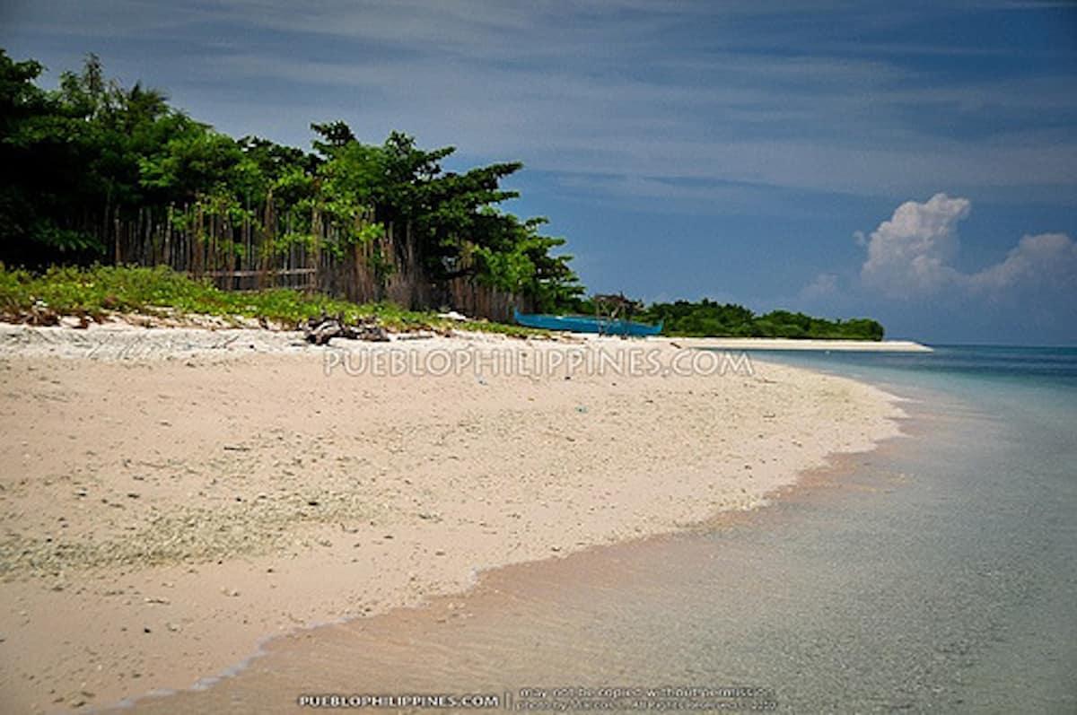 Pink Beach in Zamboanga, Philippines