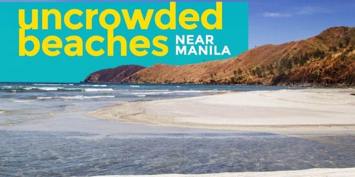 BEACHES NEAR MANILA: 10 Uncrowded Weekend Getaways