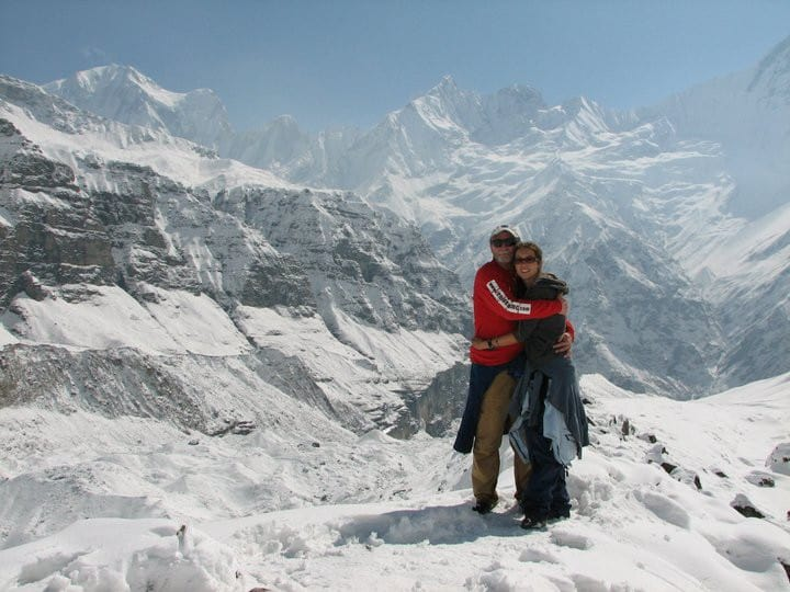 Annapurna Basecamp with Dad