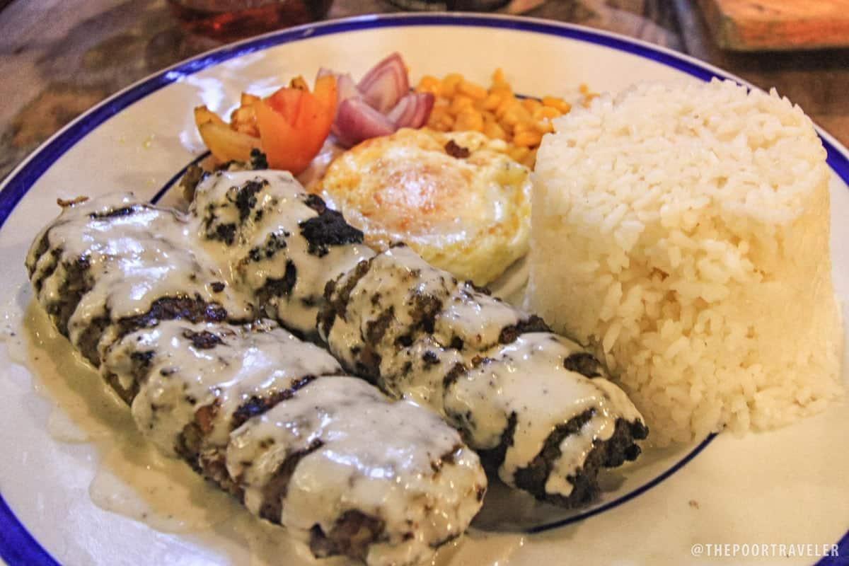 Beef Kebab Rice