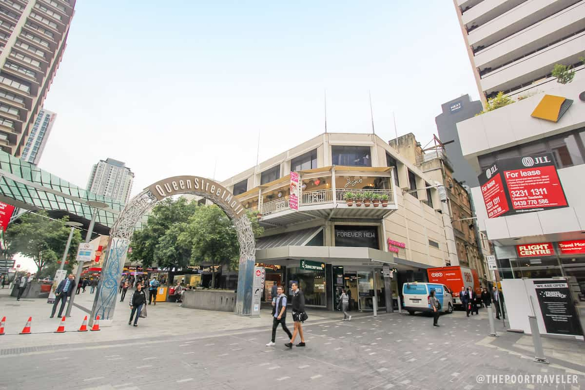 Queen Street Mall Entrance