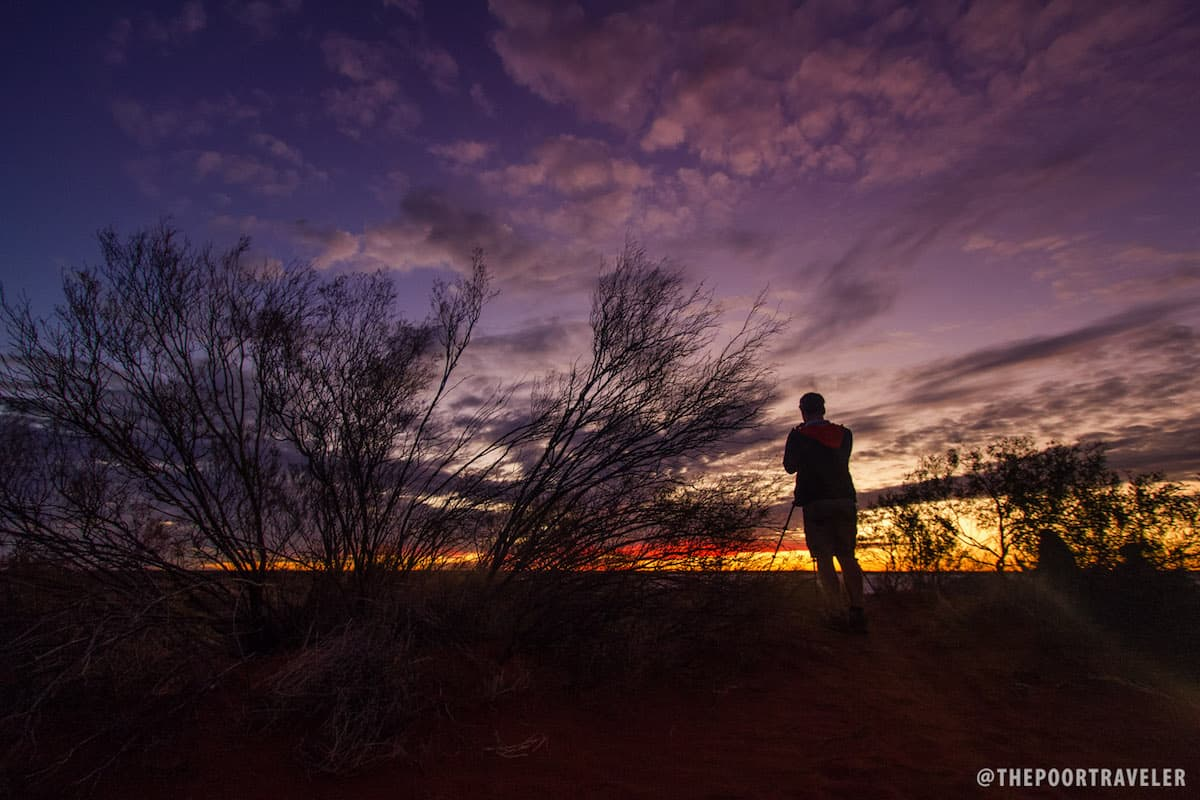 Sunset in the Outback