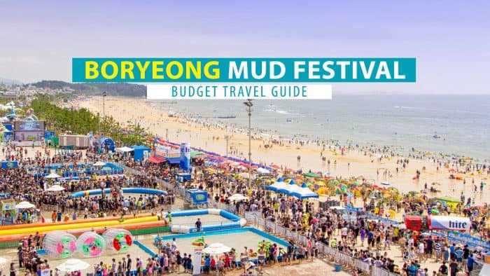 Boryeong Mud Festival Guide