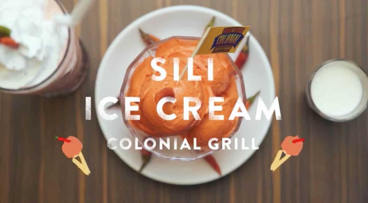 Chili Ice Cream