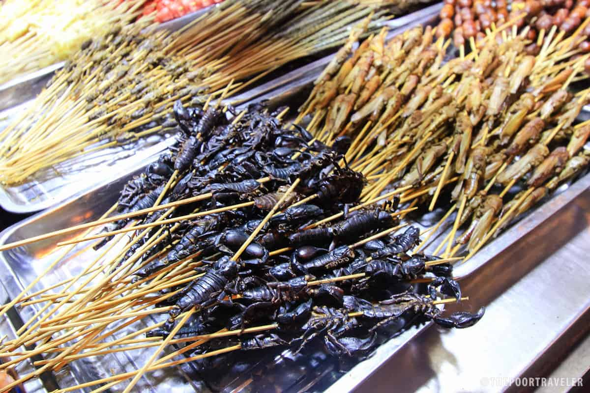 Scorpions on Stick. Who wants to try?