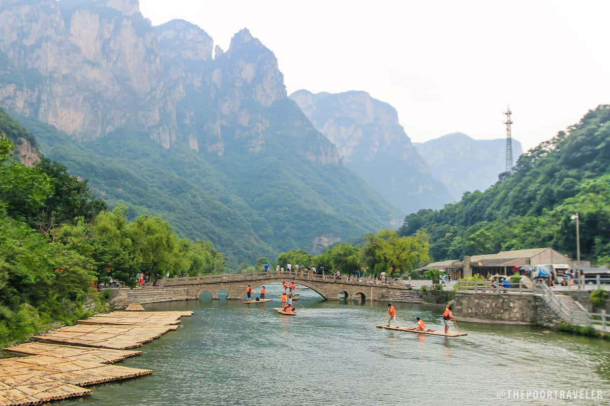 Rafting in Tanpu Gorge