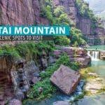 Yuntaishan: 4 Scenic Spots at Yuntai Mountain, China (Our Overnight Itinerary)