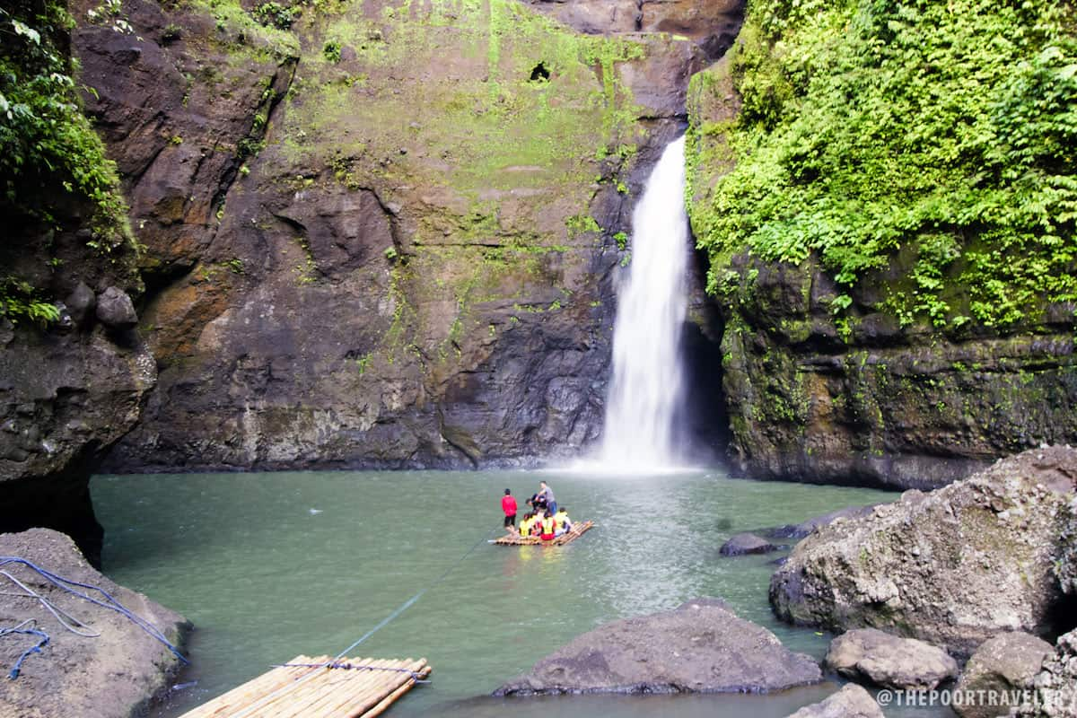 Cavinti Falls is also known as Pagsanjan Falls