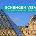 Schengen Visa for Filipino Tourists 2016: How to Get One via French Embassy