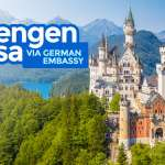 SCHENGEN VISA via GERMAN EMBASSY: Requirements & How to Apply