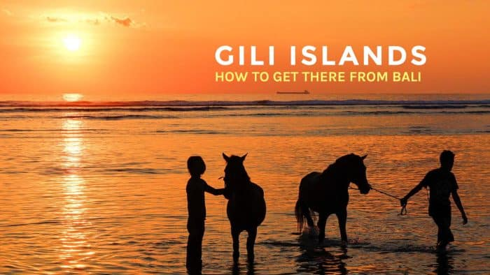 How to Get to Gili Islands from Bali or Lombok Airport