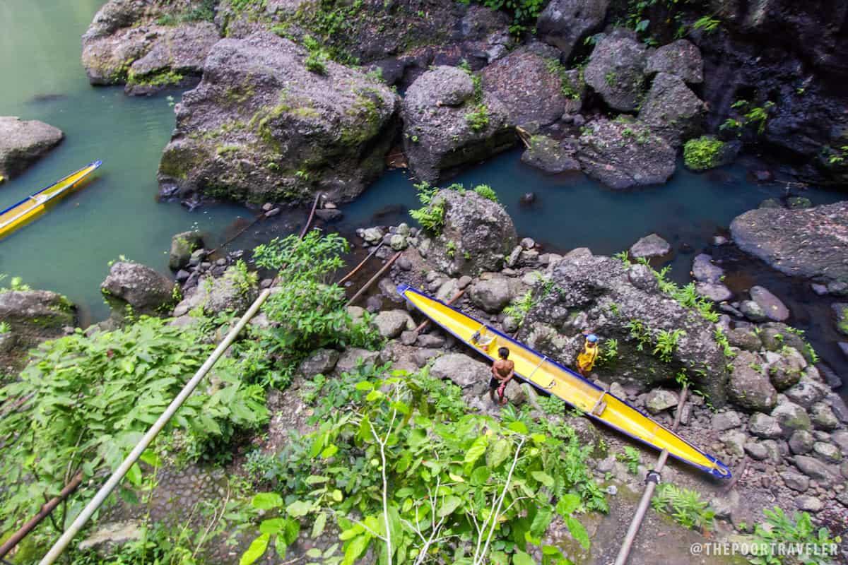 Boat at Cavinti Falls