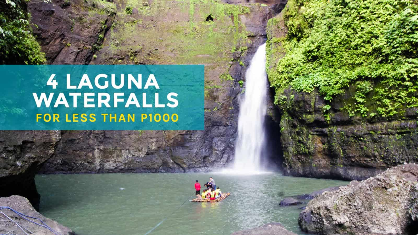 4 Laguna Waterfalls for Less than P1000: Hulugan, Cavinti Falls & More