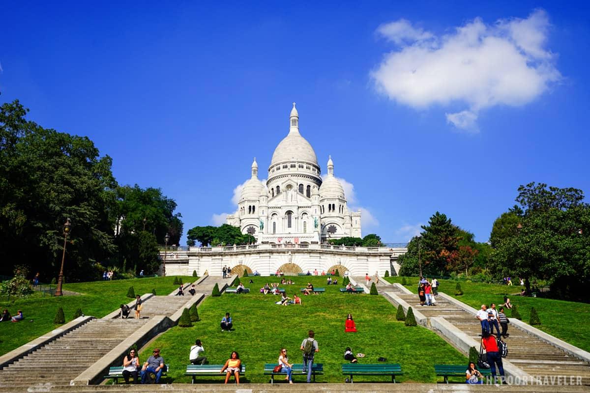La Basilique du Sacré Cœur de Montmartre