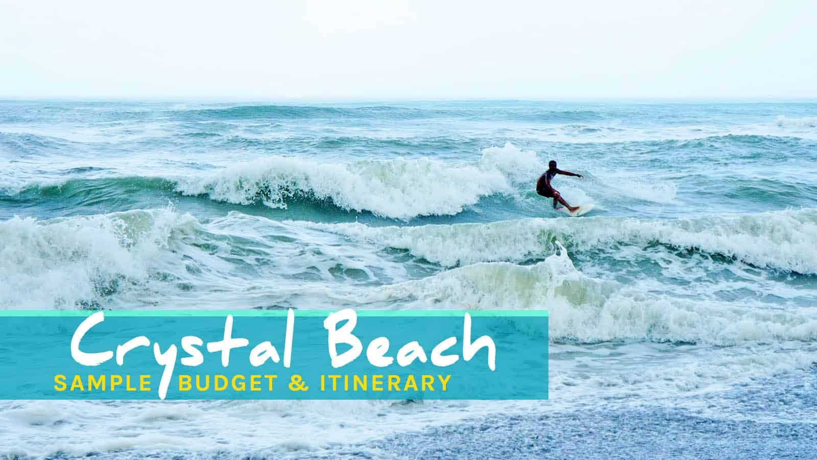 Crystal Beach Resort And Anawangin Cove, Zambales: Our