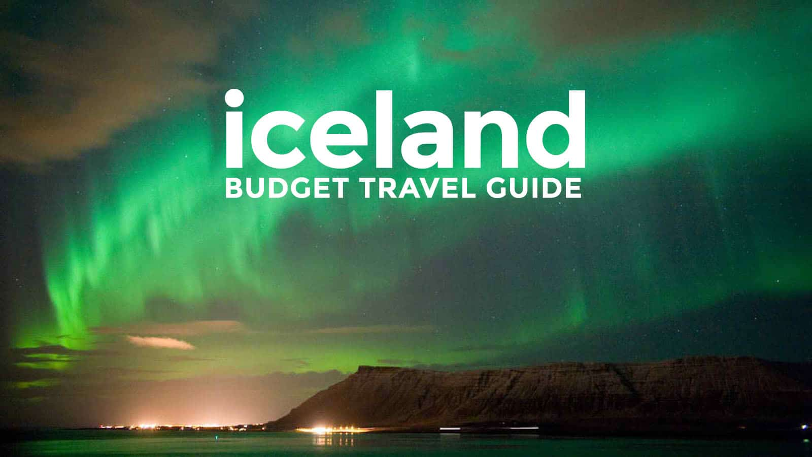 Iceland On A Budget Reykjavik Travel Guide 2017 The