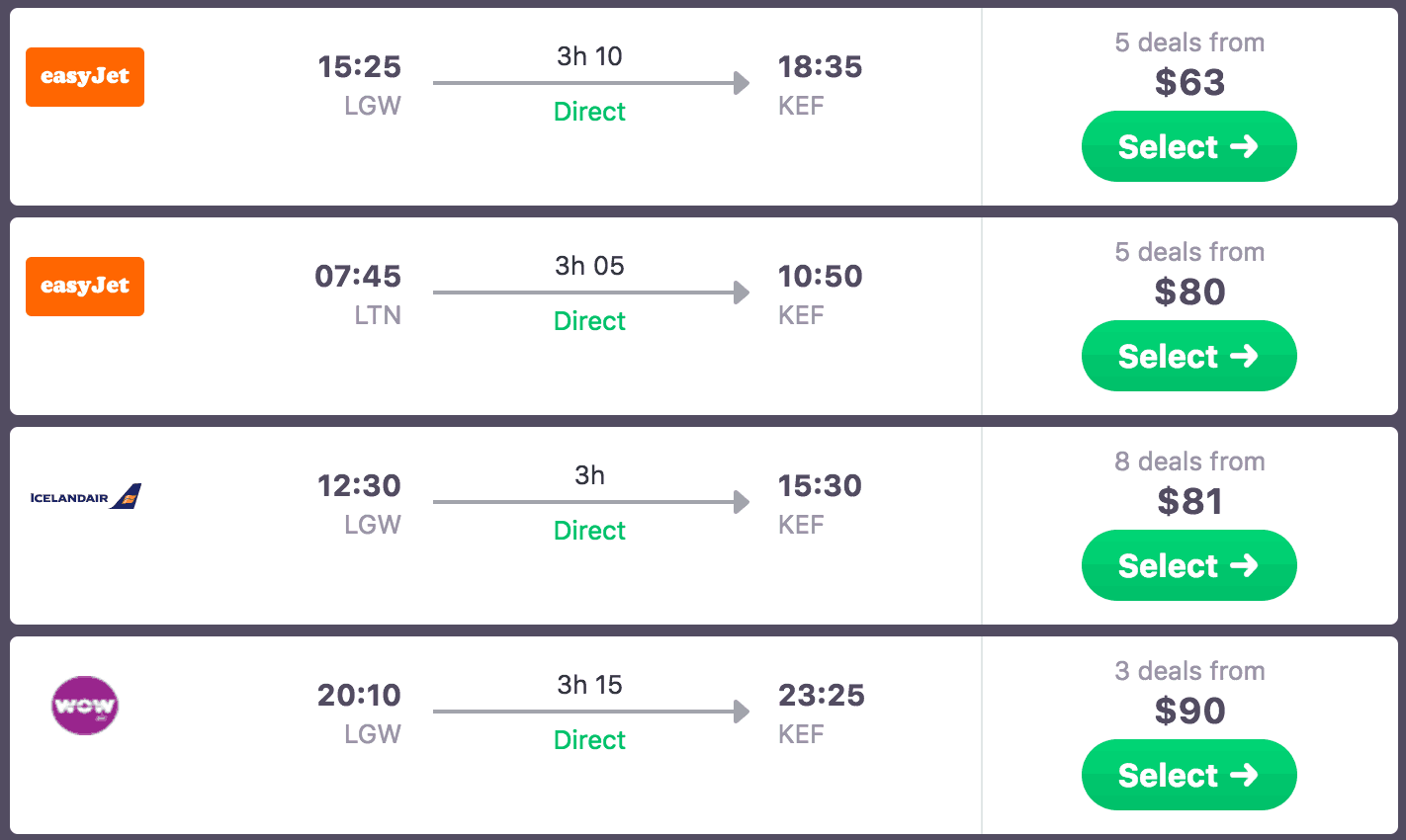 london-reykjavik-march-cheap-airfare