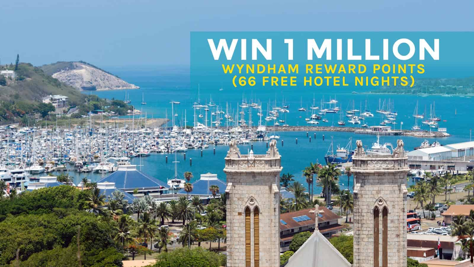 PROMO ALERT! Win 1 Million Wyndham Reward Points (66 Free Nights)!