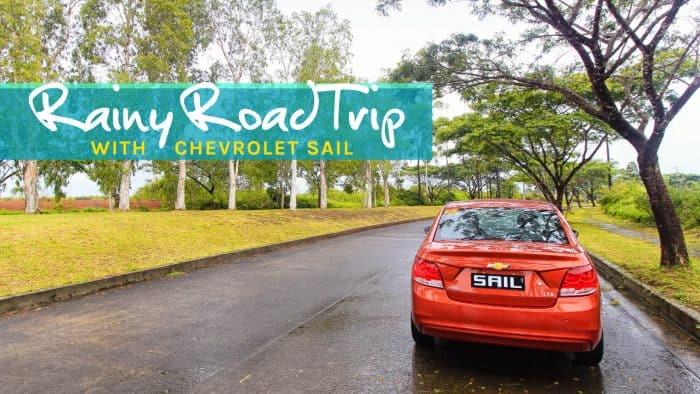 A Rainy Road Trip in Laguna with the Chevrolet SAIL