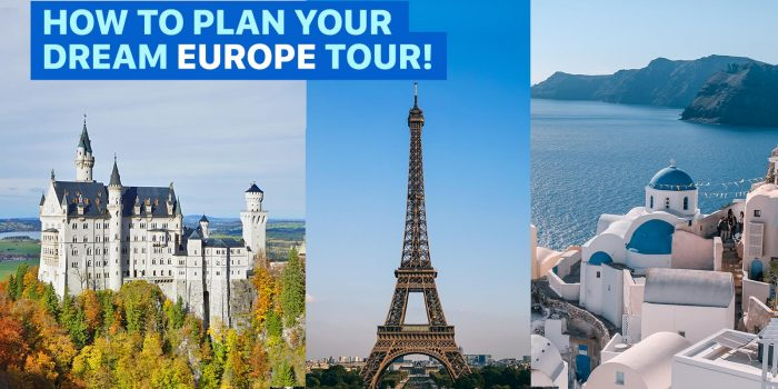 BACKPACKING EUROPE: How to Plan Your Dream Euro Tour on a Budget