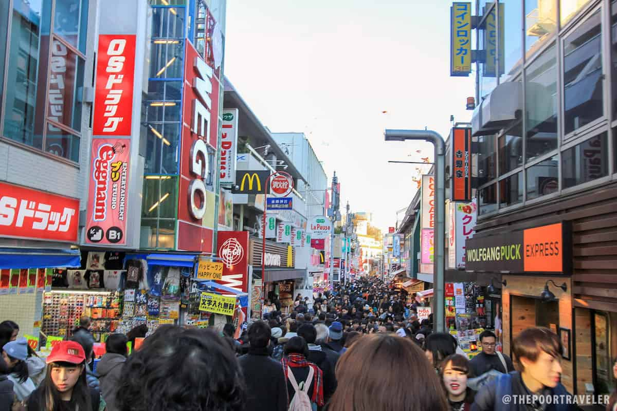 Harajuku's Takeshita-Dori (Takeshita Street)
