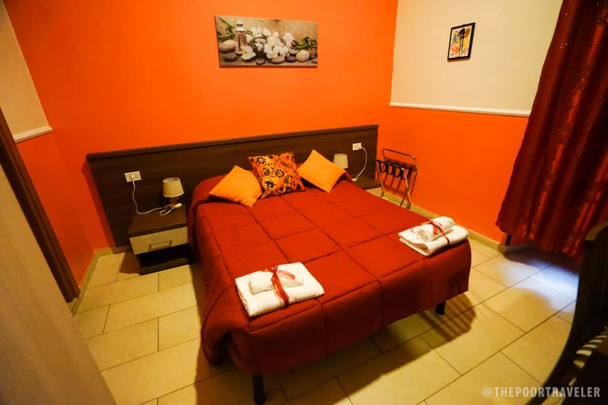 Hotel Leone Rome Italy - Bedroom