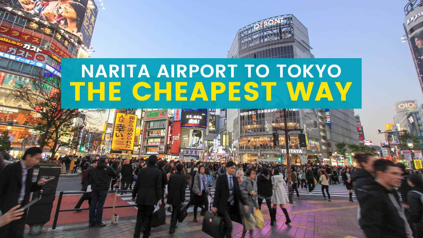 Narita Airport to Tokyo City Center the Cheapest Way