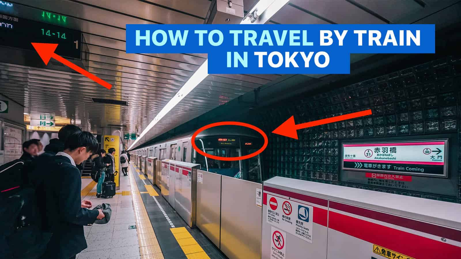 HOW TO GET AROUND TOKYO BY TRAIN: Guide for First Timers