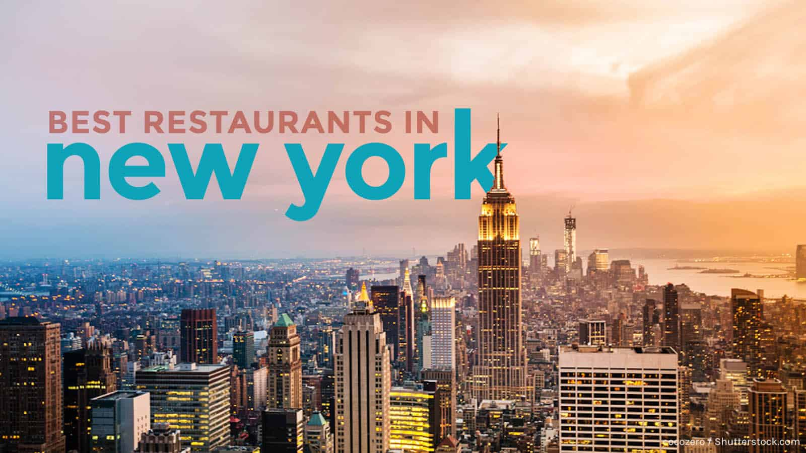 JustFly Reviews: Top 10 Best Restaurants in New York City