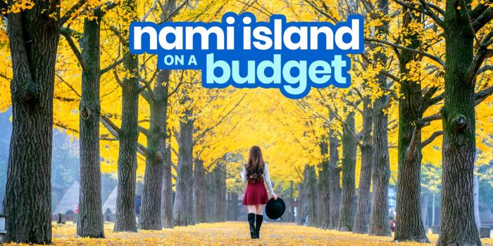 NAMI ISLAND TRAVEL GUIDE with Budget Itinerary