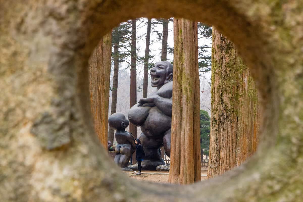 Nami Island Statue