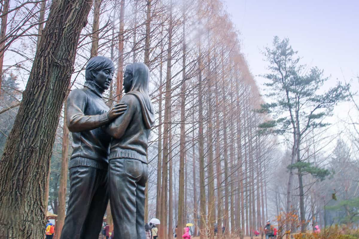Winter Sonata in Nami Island