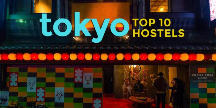 Tokyo: Top 10 Recommended Hostels 2017