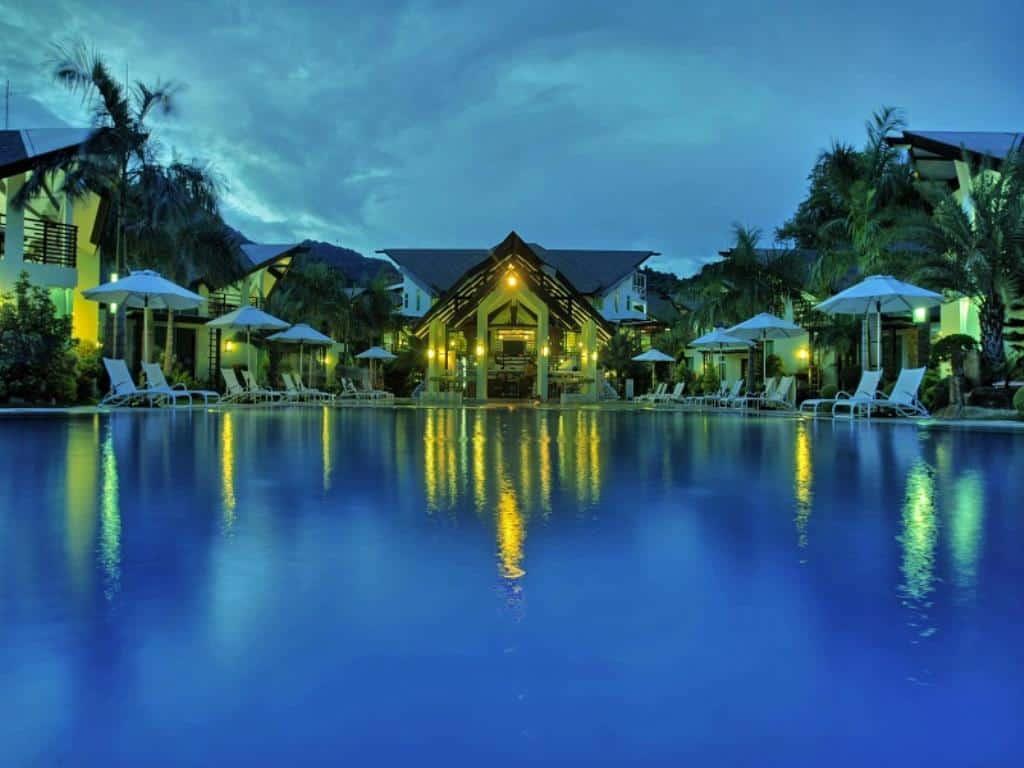 Top 10 laiya batangas beach resorts the poor traveler - Residencia de manila swimming pool ...