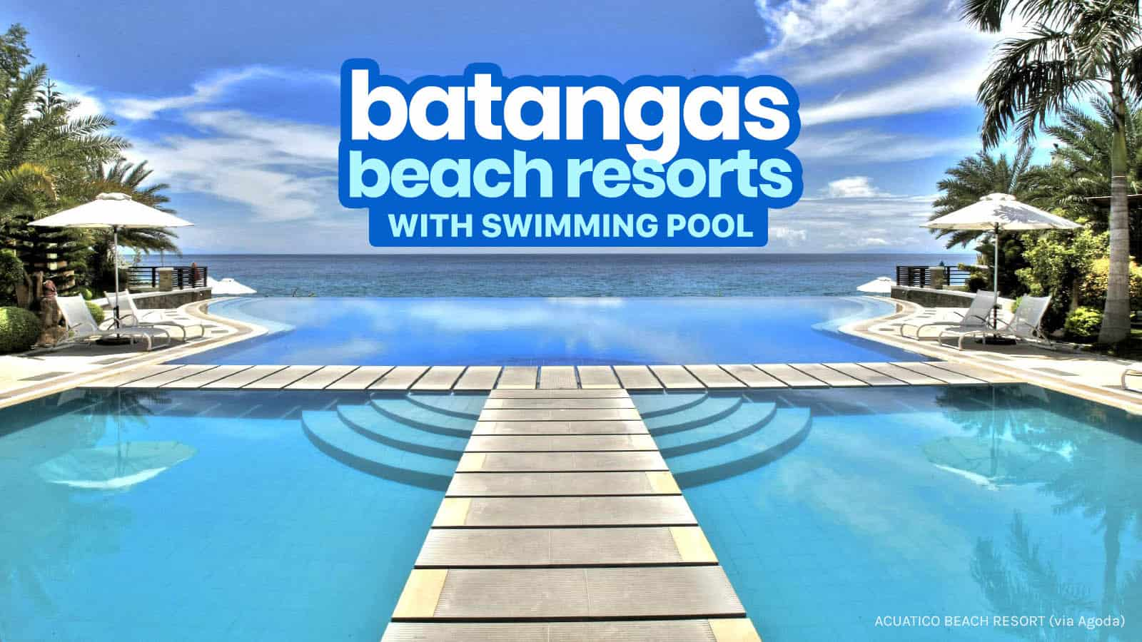 TOP 15 BATANGAS BEACH RESORTS 2019 | The Poor Traveler