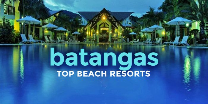 TOP 15 BATANGAS BEACH RESORTS 2019