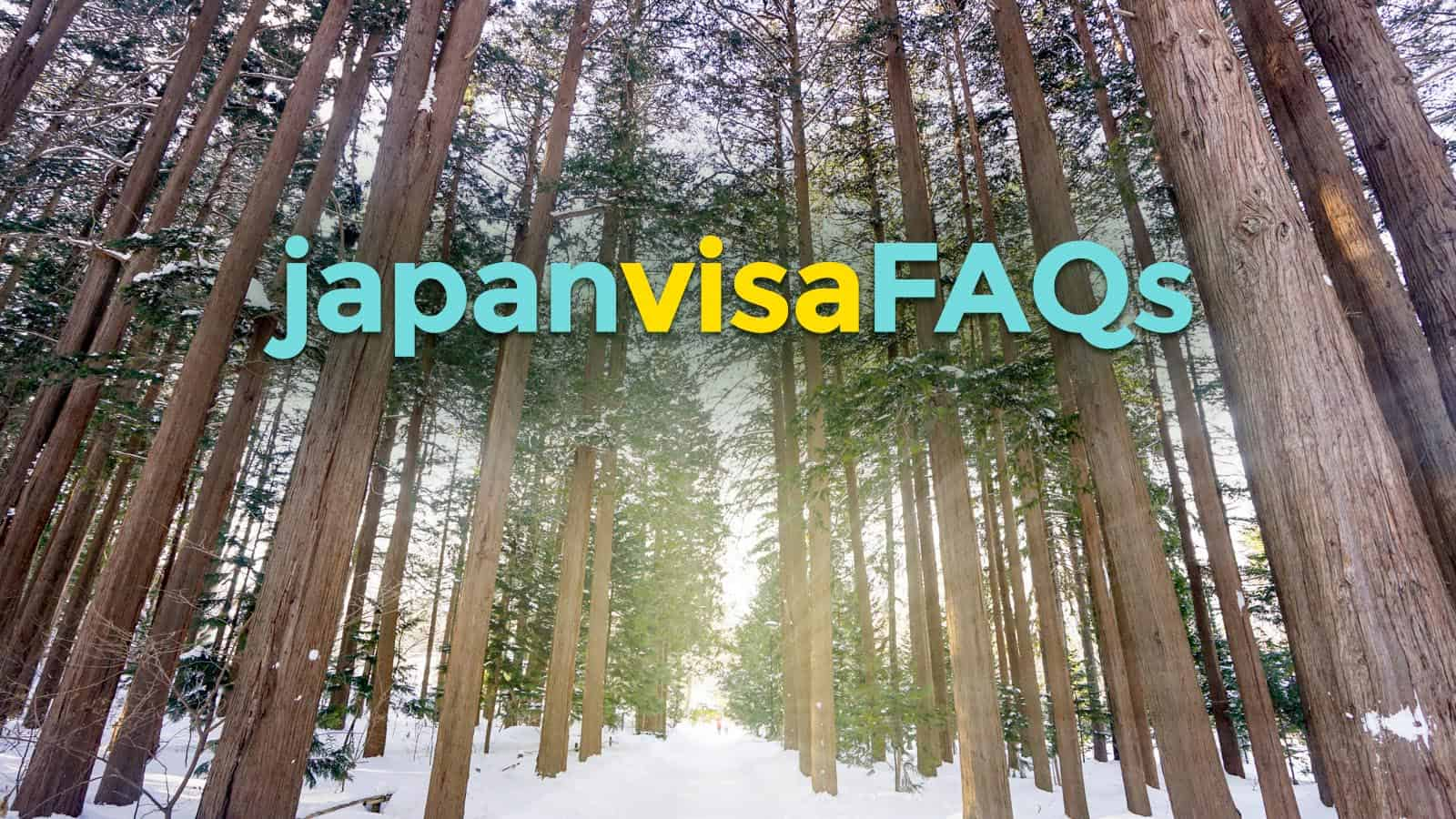 HOW TO RENEW JAPAN VISA & Other Frequently Asked Questions (FAQs)