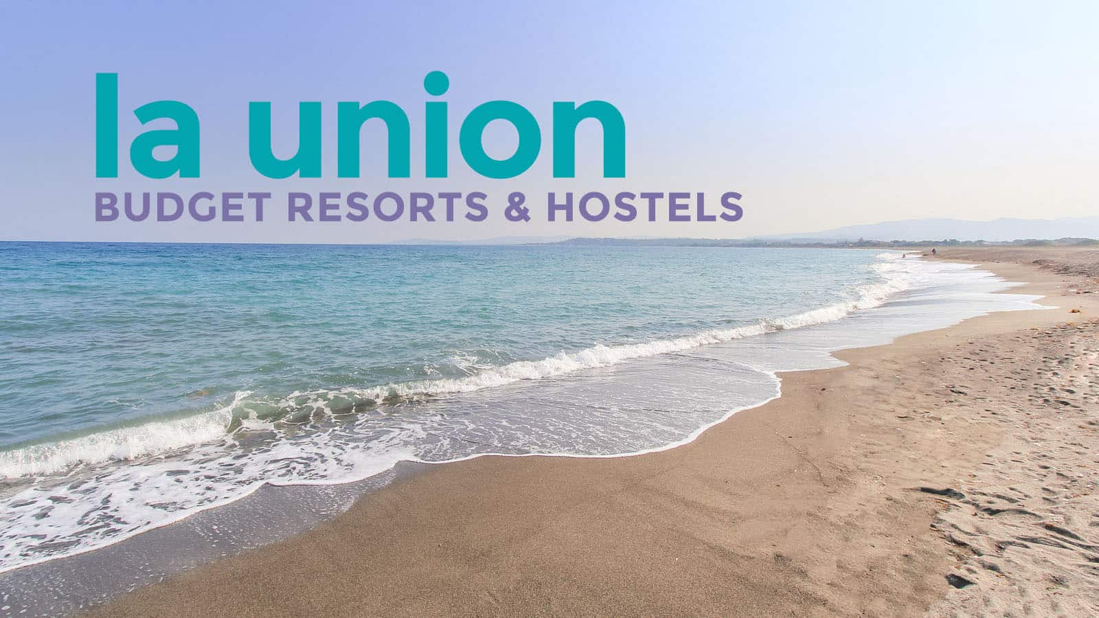 La union top 7 budget beach resorts under p2500 the for Best and cheapest beach vacations